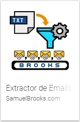 Extractor de Emails Brooks es una APP Android Para Extraer Emails de Textos