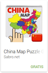 Android APP Game China Map